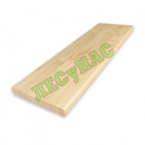 Мебельный щит (ступенька) 40х300х1200 сорт АВ
